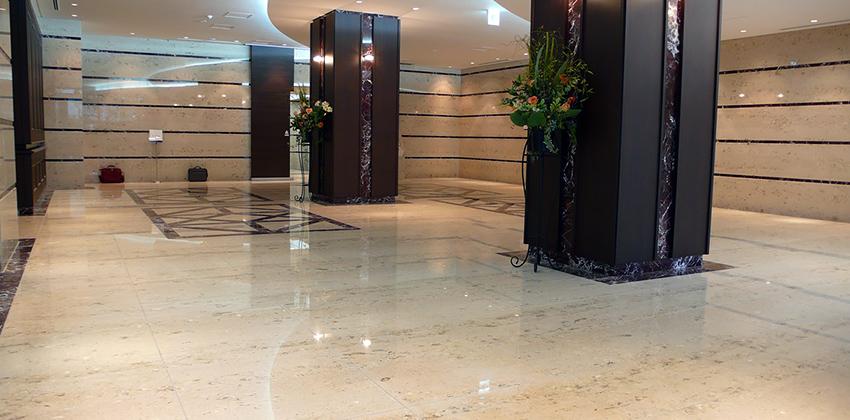 Realizzazione Hotel a Tokyo (Japan) con Marmo di Aurisina