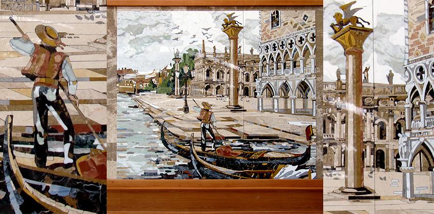MOSAICO DI MARMI VARI – Venezia