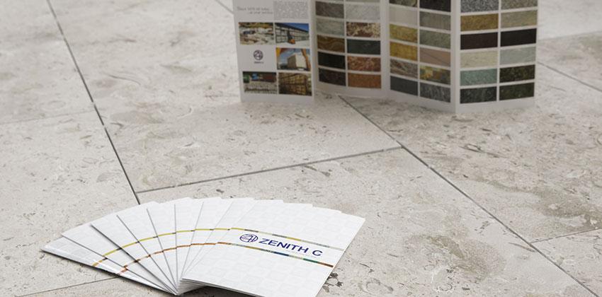Pavimentazione Showroom in Aurisina Fiorita, finitura spazzolata