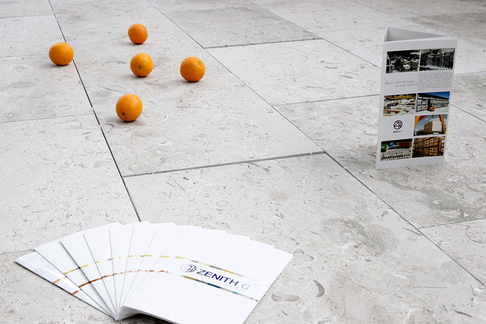 Aurisina Fiorita pavimento spazzolato