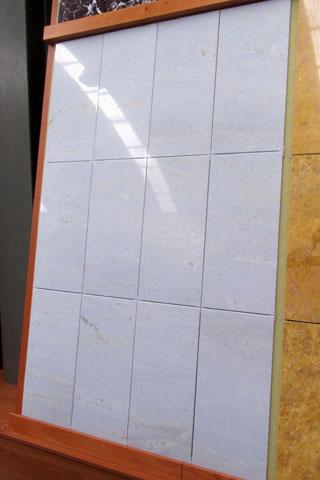 composizione in marmo AZUL