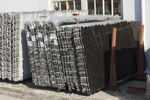 Granite slabs BLACK ANTIQUE