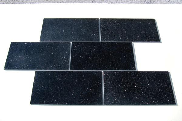 pavimentazione lucida Black Galaxy