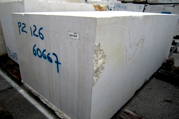 Blocco marmo Botticino Classico