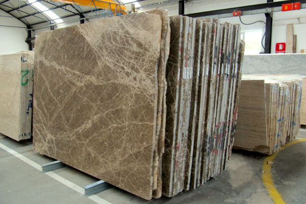 lastre di marmo lucido, per interni