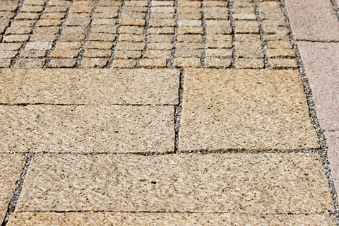 Granito GIALLO  Pavimentazioni esterne, cubetti