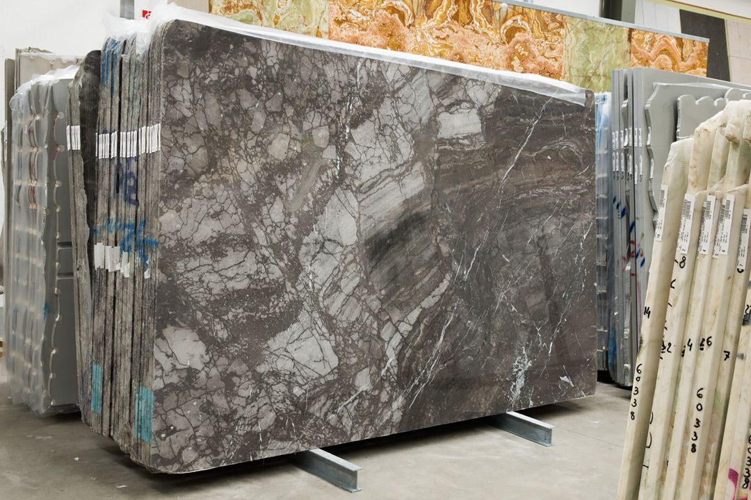Lastre marmo GRIGIO ITALIA - Block-ID = 61270