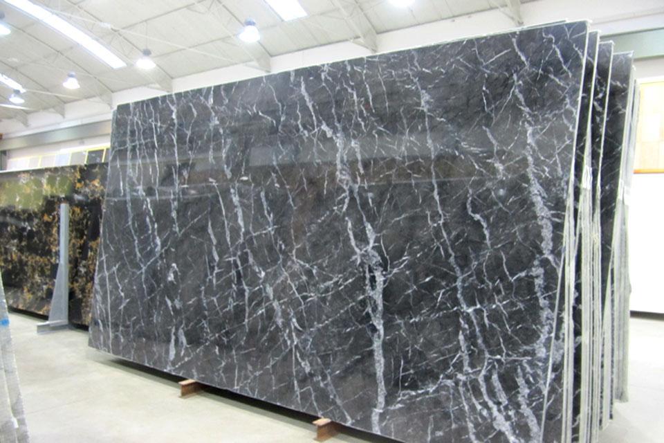 lastre marmo lucido GRIGIO CARNICO, per interni