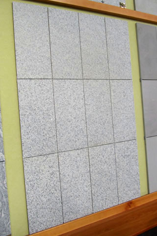 composizione in granito per esterni