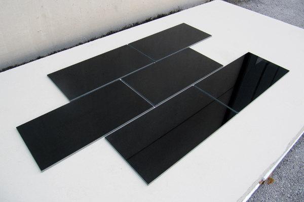 pavimentazione in JET BLACK