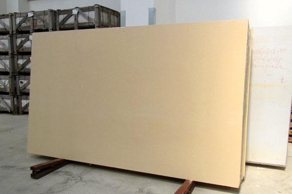 Nachgemachte Marmorplatten für Küche und Bad