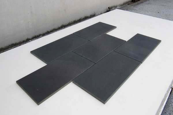 composizione pavimento levigato