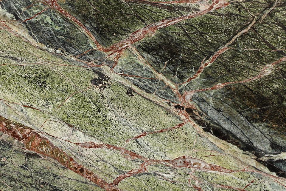 Dettaglio marmo RAIN FOREST
