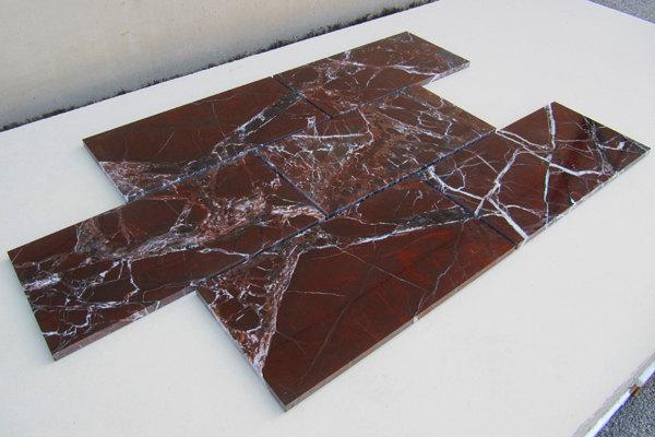 pavimento marmo ROSSO LEVANTO b
