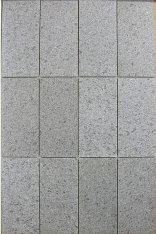 pavimento granito FIAMMATO + SPAZZOLATO, per esterni