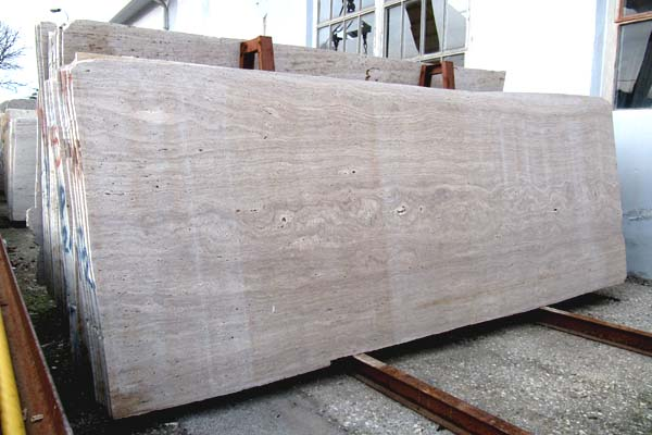 Travertine walnut/noce slabs