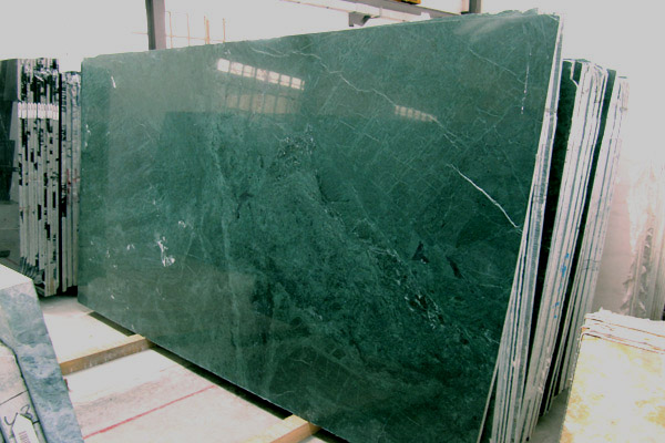 Verde Guatemala polished slabs