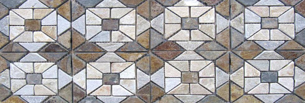 Mosaico ARDESIA QUARZITE ardesia
