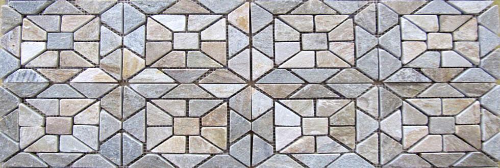 Mosaico QUARZITE quarzite