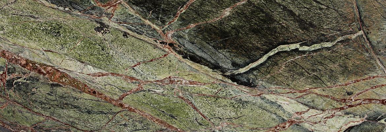 RAIN FOREST GREEN marbre