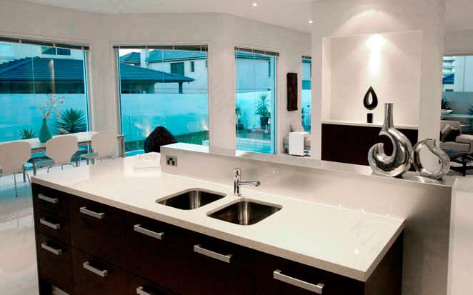 Lastre sinterizzate resine marmo e quarzo