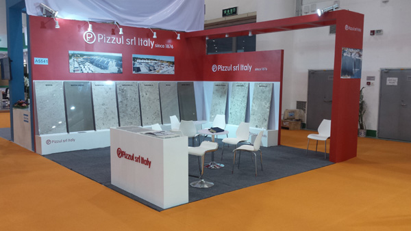 Pizzul at Xiamen Stone Fair 2016